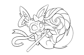 myu all pokemon coloring pages images pokemon images