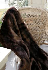 Brown Throw Rugs Decorating Using Comfy Faux Fur Throw For Lovely Home Accessories