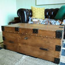 Rustic Trunk Coffee Table Coffee Tables Rustic Trunk Coffee Table Storage Trunk With