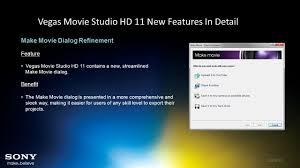 vegas movie studio hd 11 august 2011 release create amazing