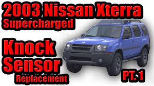 nissan frontier junkyard parts 2003 nissan xterra supercharged knock sensor replacement part 1