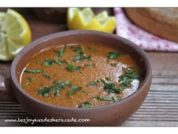 recette de cuisine tunisienne facile et rapide en arabe soupe tunisienne hsou tunisien حسو تونسي les joyaux de sherazade