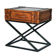 trunk style side table trunk style end tables moniredu info