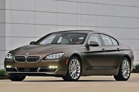 bmw gran coupe used 2014 bmw 6 series gran coupe for sale pricing features