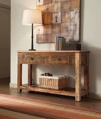 salvaged wood console table reclaimed wood console table localizethis org dreamed reclaimed