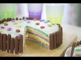 cuisine notre famille rainbow cake
