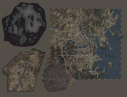 Fallout New Vegas Chances Map by Fallout 4 Expansions Map Size Comparison Fo4