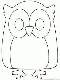 19 dessins de coloriage hibou à imprimer