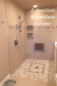 best ideas about shower designs pinterest benches advantages and disadvantages curbless walk shower