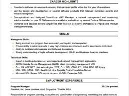 Construction Superintendent Resume Templates Resume Template For Project Manager Sample Project Manager Resume
