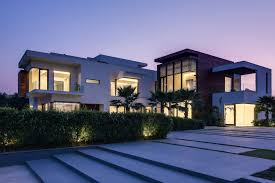 modern luxury villas designed by gal marom architects image on