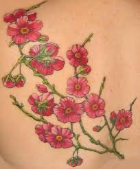 tattoos of cherry blossoms