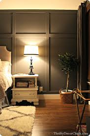 dark gray accent wall from thrifty decor