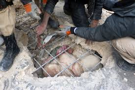 Syria Culture Shock Website by 80 Year Old Woman Trapped Under The Rubble After Air Strike In