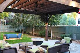 swing pergola pergola with swings and fire pit 23 with pergola with swings and