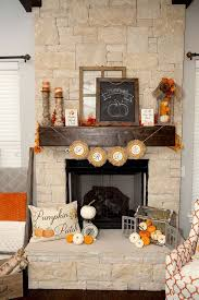 31 cozy and creative fall mantel décorating ideas digsdigs