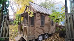 deek tours the first built tumbleweed tiny small house cabin in