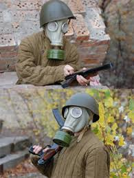 Halloween Gas Mask Costume Gas Mask Soviet Russian Model 5 Haversack 8 99 Shipped