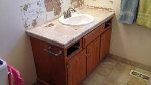 How To Install A Bathroom Vanity Exquisite How To Replace And Install A Bathroom Vanity Of Cabinets