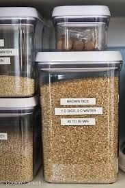 Ways To Organize Kitchen Cabinets Best 25 Organize Food Pantry Ideas On Pinterest Kitchen