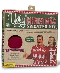 sweater kit free led ornaments included