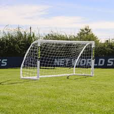forza match goal 8 x 4 soccer goal posts greenbow sports