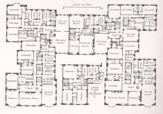 marvelous million dollar home floor plans barons court mansion in