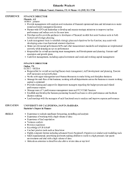 resume template administrative w experience project 2020 uc finance director resume sles velvet jobs