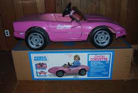 pink corvette power wheels my favorite thing in the until my brothers and their
