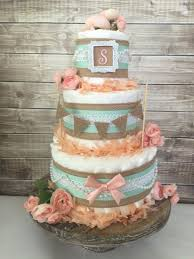 extraordinary shabby chic baby shower cakes 54 for diy baby shower