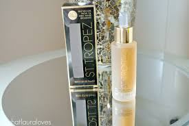 st tropez self tan luxe oil review what laura loves