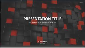 free black and red cubes powerpoint template 7426 13923 free