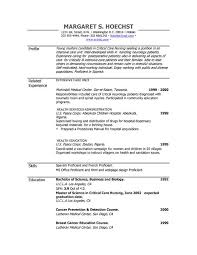 Resume Formats And Examples by Exclusive Nanny Resume Sample 18 Part Time Nanny Job Seeking Tips