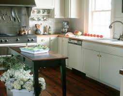 kitchen small kitchen features small island with built in utensil