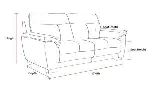 sofa depth seat depth sofa home design ideas and pictures