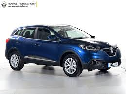 renault kadjar automatic interior used renault for sale kadjar dci dynamique edc blue cannock
