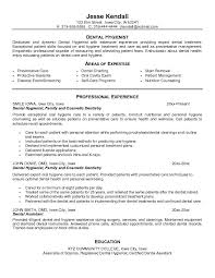 Sample Resume With Education by Free Dental Hygienist Resume Example