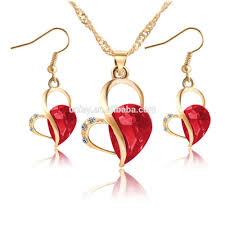 diamond necklace aliexpress images Wholesale black metal necklace set online buy best black metal jpg