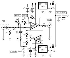 modular preamp tone control circuit description circuit diagram world