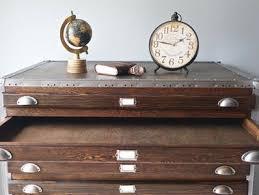 Vintage Industrial File Cabinet Get It For Less Vintage Industrial Flat File Cabinet Apartment