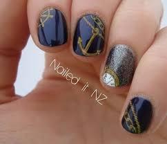 21 best sailor nails images on pinterest sailor nails nautical