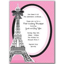 eiffel tower invitations possible invitation ideas for kate s 6th bday