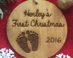 Personalized Christmas Ornaments Baby Baby First Christmas Etsy