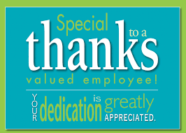 appreciation cards card invitation sles employee appreciation cards blue background