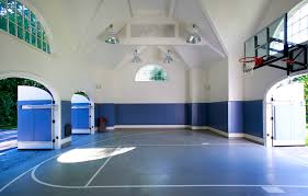 backyard basketball courts and home gyms sport court unique home