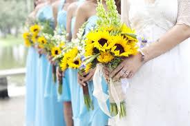 wedding flowers sunflowers wedding bouquet of sunflowers for a mood wedding flowers