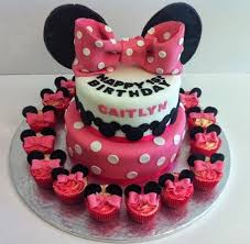 minnie mouse birthday cake minnie mouse tiered birthday cake quality cake company