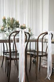 chair ribbons 10 creative chair decor ideas intimate weddings small wedding