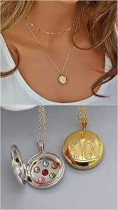 Monogram Locket Necklace Más De 25 Ideas Increíbles Sobre Engraved Locket En Pinterest
