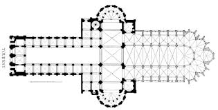 cathedral floor plan medieval tournai page